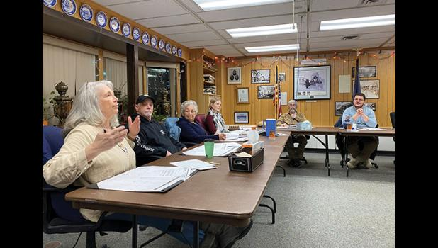 Nome Planning Commission during their meeting last week.