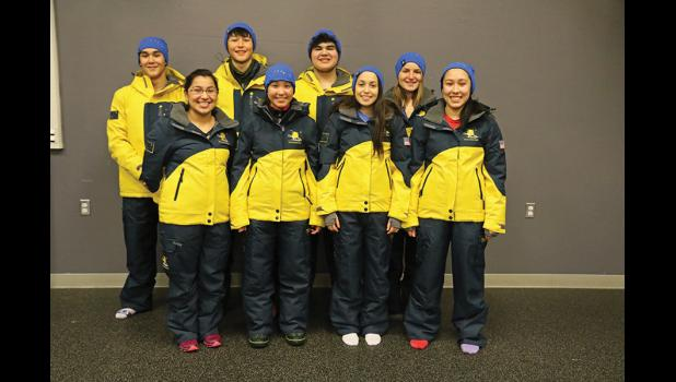 ARCTIC WINTER GAMES— Eight elite athletes from Nome and one coach are headed to the Arctic Winter Games in Greenland.