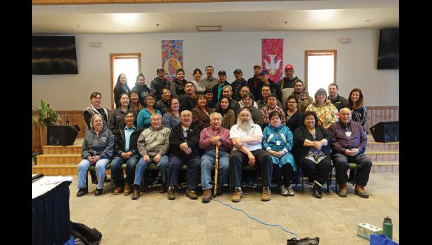 MEETING— The joint boards of Kawerak Inc. Norton Sound Health Corporation met last week in Nome.