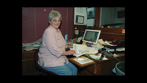 Editor and publisher Nancy McGuire
