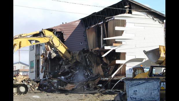 Fire victims of the Umiaq Apartment fire are suing the property owner and Kandie Allen