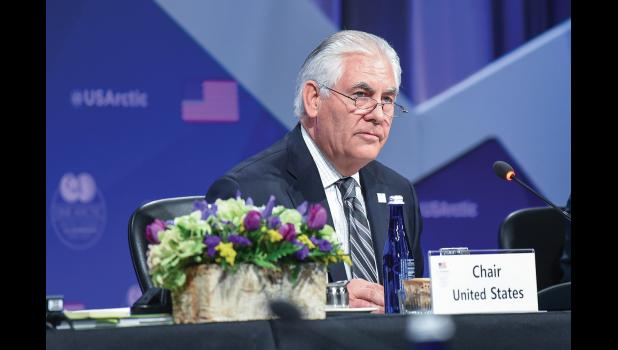 ARCTIC COUNCIL—U.S. Secretary of State Rex Tillerson chaired the 10th Ministerial Meeting of the Arctic Council in Fairbanks, which marked the end of the U.S. Chairmanship Program.