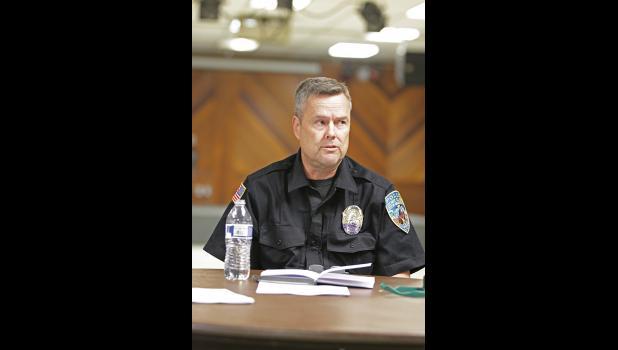 Nome Police Chief Bob Estes