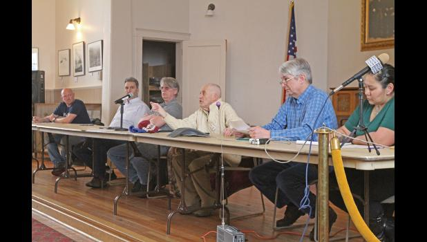The Nome Common Council convened for an emergency meeting addressing Covid-19 measures, on March 17, 2020, at Old St.Joe's
