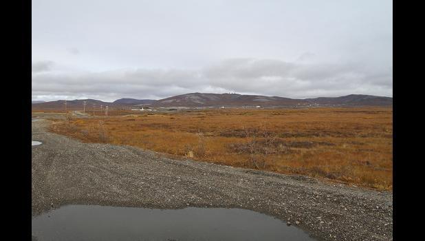 Queens Bench mining area