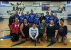 NANOOKS – The Nanook varsity volleyball squad squared off against a talented group of alumnae Thursday and Friday to launch the Nanook 2019 season. After the games they paused for a photo.